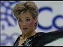 Олимпийские игры 1988 Фигурное катание пары Christine Hough Doug Ladret произвольная программа