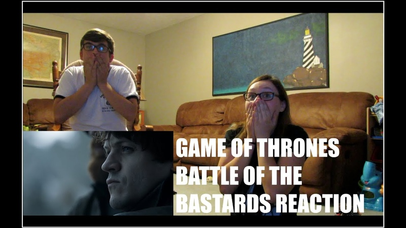 GAME OF THRONES BATTLE OF THE BASTARDS REACTION!! | LEXI TANNER