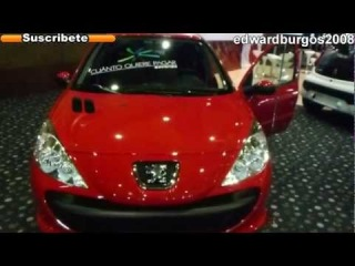 peugeot 206+ 2013 colombia video de carros auto show expomotriz medellin 2012 FULL HD