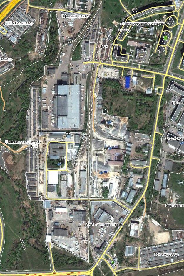 Возведения 200 000 метров недвижимости на границах района Солнцево