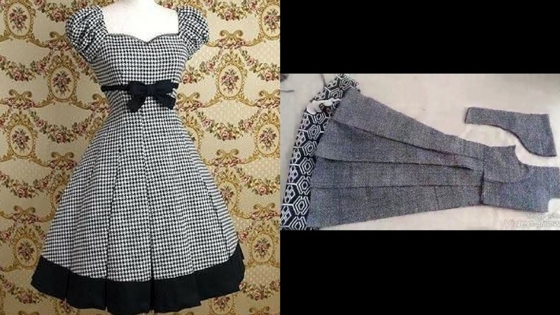 Top stylish beautiful designer frock cutting step by step easy to make