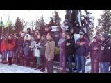 Студенти Зборівського коледжу вийшли на Майдан