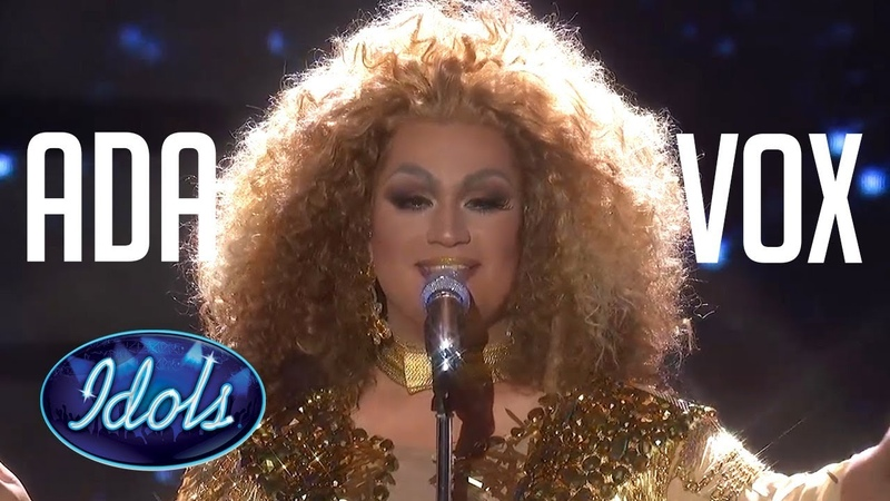 DRAG QUEEN ADA VOX All Auditions Performances On American Idol 2018
