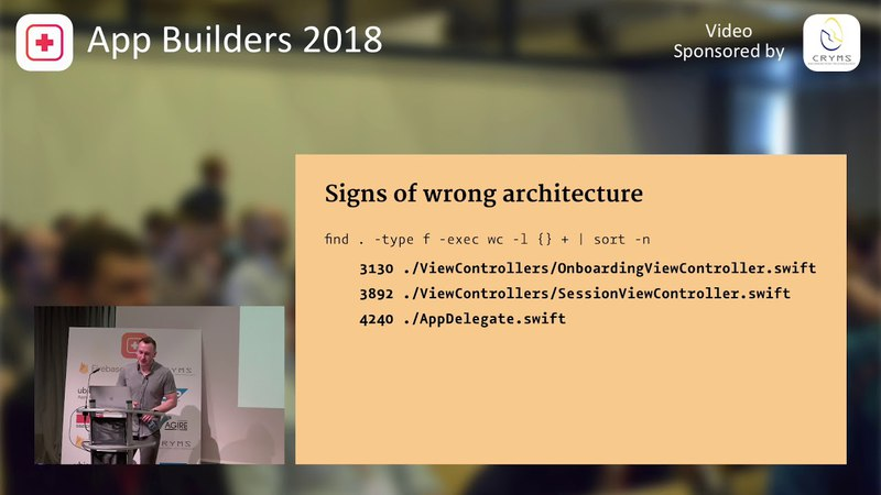 Krzysztof Zabłocki - iOS Application Architecture