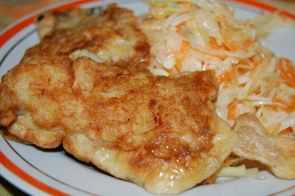 Рыба в кляре простой рецепт с фото пошагово