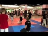Тренировка на летних сборах