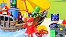PJ Masks Video - Die Pyjamahelden helfen dem Kapitän - Spielzeugvideo für Kinder