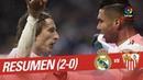 Resumen de Real Madrid vs Sevilla FC (2-0)