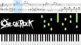 Change (ONE OK ROCK ) - Piano Tutorial + Sheets