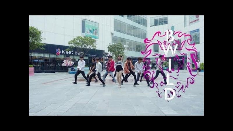 KPOP IN PUBLIC Triple H 트리플 H RETRO FUTURE Dance Cover By B Wild From Vietnam Choreography Ver