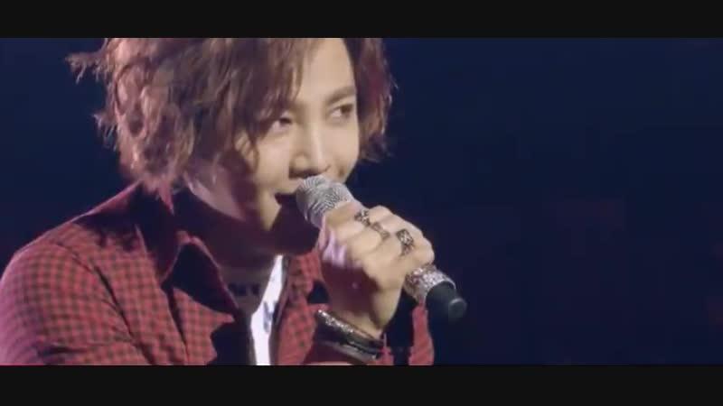 Jang Keun Suk from his Cri-Show III - Hall (the making DVD)
