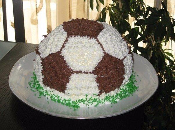торт футбольный мяч рецепт фото