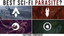 Which sci-fi PLAGUE / PARASITE is best Factions Compared Halo, Dead Space, WH40k, Zero Dawn