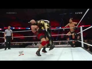 |WM| Голдаст и Коди Роудс против Райбека и Кёртиса Акселя - Пэйбек 2014