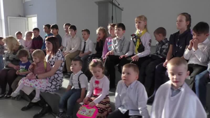 Торжественное богослужение в новом храме г. Красноярска 2 часть