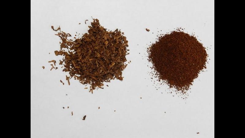 Ароматизация табака кофе