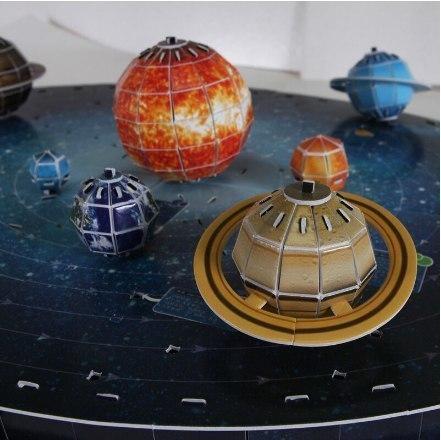 Сборная бумажная модель солнечной системы -