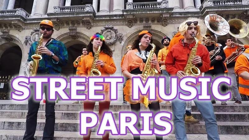Besame Mucho - Уличные музыканты Парижа - Opera Palais Garnier - Les Plaies Mobiles