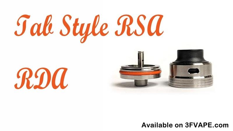 Tab Style RSA RDA