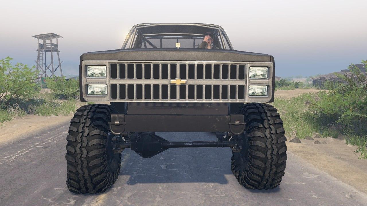 82 Chevy K10 для 03.03.16 для Spintires - Скриншот 1