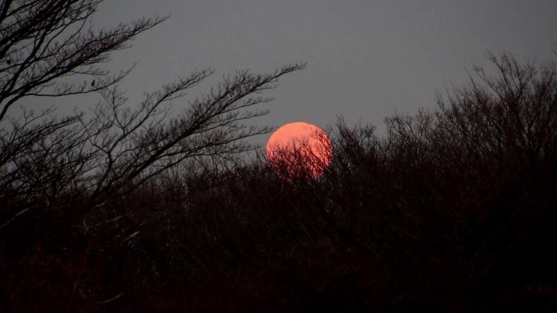 Minako y 龍樹 音のスケッチ12 Twilight 日没と月の出「陰陽」