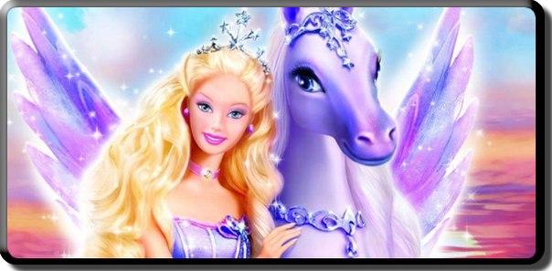 Барби Волшебство Пегаса Смотреть Онлайн