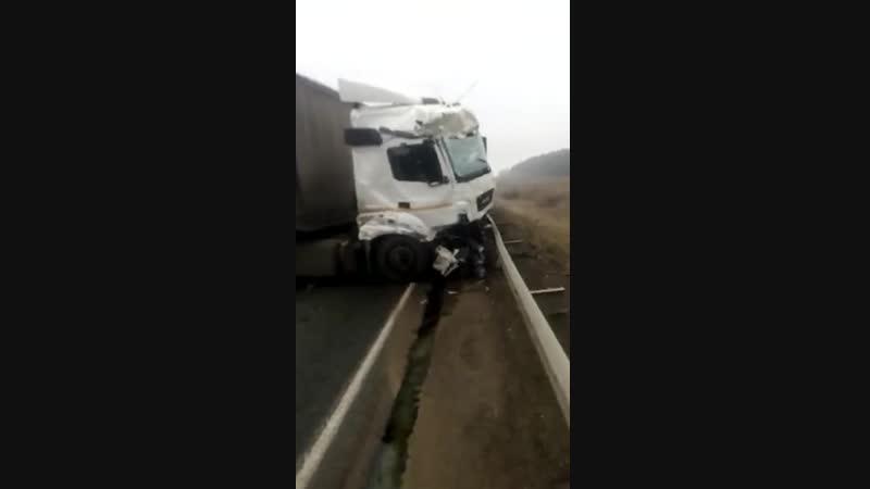 Жуткое ДТП на трассе в Башкирии
