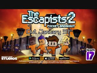 The Escapists 2 Pocket Breakout - Announcement Trailer (iOS Android Amazon)