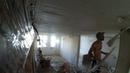 Безмаячное оштукатуривание потолка