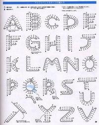 ВЯЗАНИЕ КРЮЧКОМ буквы алфавита.английский. схема.  Дата: Четверг, 23.05.2013, 09:56 Сообщение 15.  Группа: Модераторы.