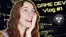 Game Dev Student Surviving Deadline Stress!   Vlog 1