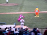 The San Diego Famous Chicken vs B-Boy Barney