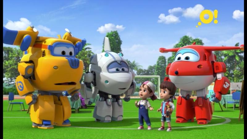 Смотрите мультсериал «Суперкрылья. Джетт и его друзья» на «О!»