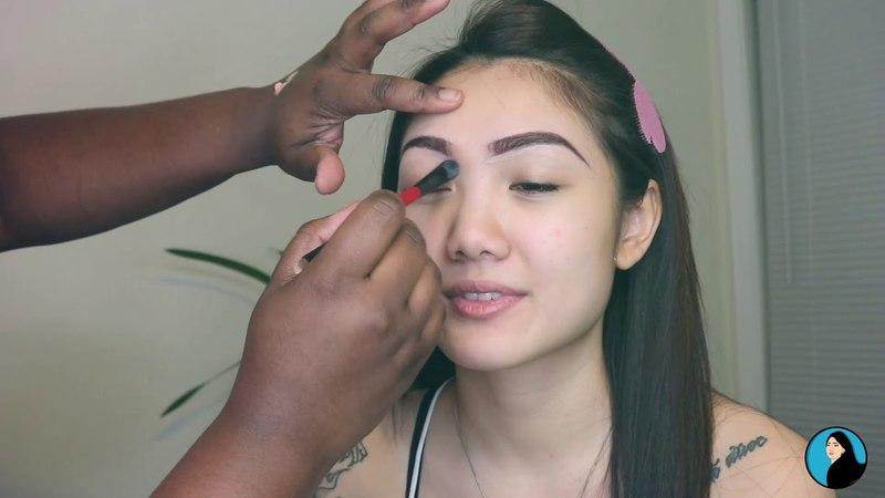 Black Smokey Eye Full Glam Makeup ~ Getting Ready With Me
