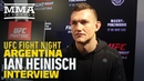 UFC Argentina: Ian Heinisch Discusses Stint in Spanish Prison For Drug Trafficking - MMA Fighting