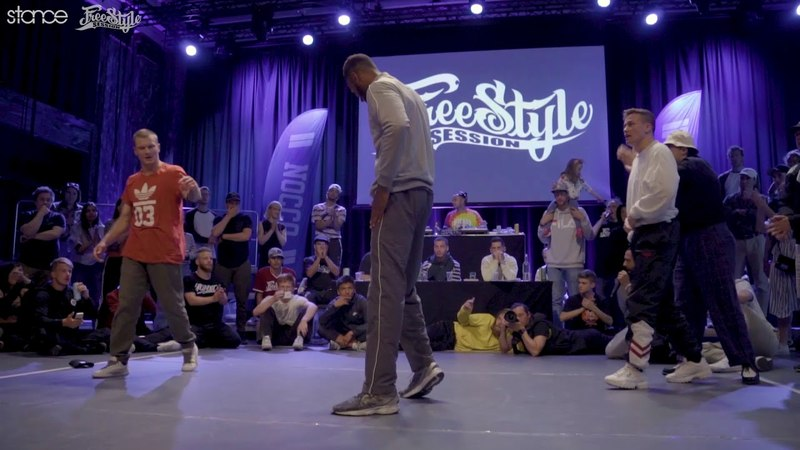 Fabian Dangerous vs Exaggerate Tunde (final) .stance Freestyle Session Norway 2018