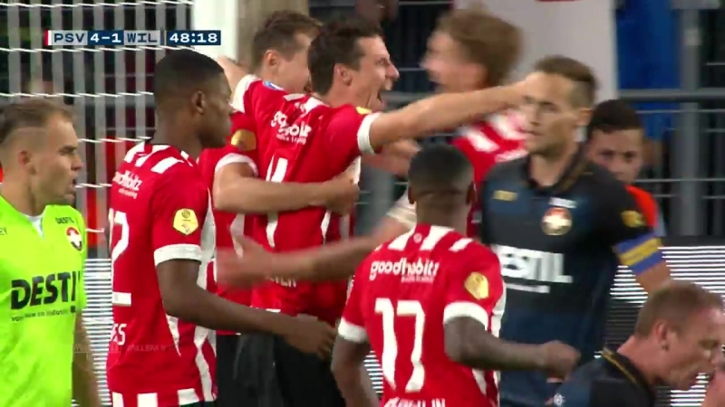 Samenvatting PSV - Willem II