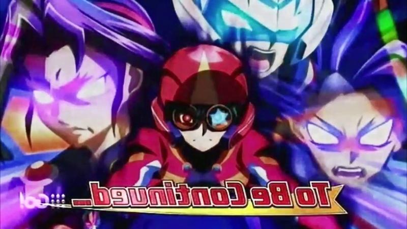 Dark Rebellion XYZ Dragon - Yuya, Yuto, Yuri, Yugo Berserk - Yu-Gi-Oh! Arc V (English Dub)