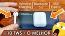 I10 TWS TOP Saiba porque recomendo comprar Clone do AirPods Apple português Brasil