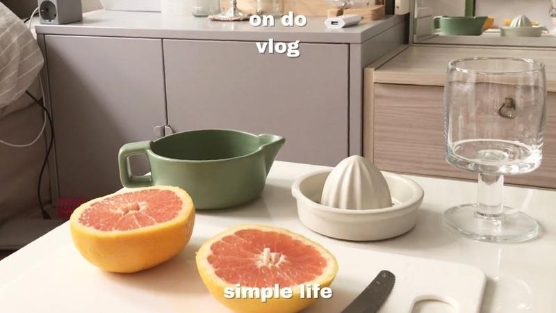온도 브이로그,하루종일 집에만 있는 집순이 일상_vlog