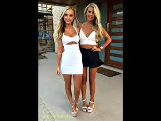 Горячие и очень СЕКСуальные Девушки в обтягивающих платьях 1
