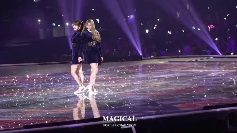 181212 181212 Chaeyeon (IZ*ONE) - Intro Dance Break @ MAMA Japan