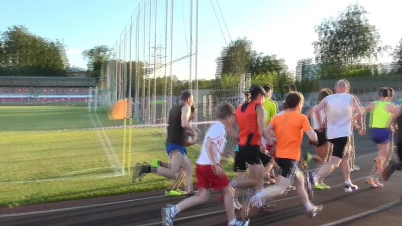 старт на 1000 метров - Тыща в Мытищах 21.06.2018