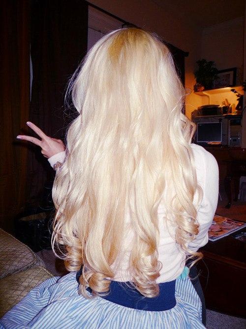 фото блондинки в домашних условиях
