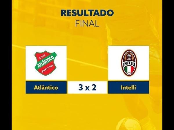 1-TEMPO Atlantico 3x2 Intelli - Liga Nacional de Futsal 040419