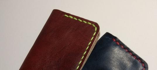d6ceeccacb83 Кожаный микрокошелек кошелек визитница картхолдер – купить в интернет- магазине на Ярмарке Мастеров с.