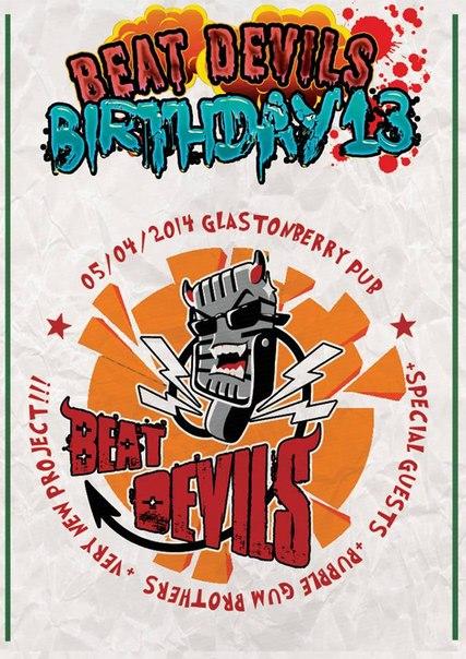 05.04 Beat Devils Birthday'13 - Glastonberry Pub