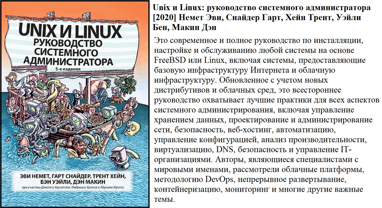Unix и Linux руководство системного администратора [9] Немет ...