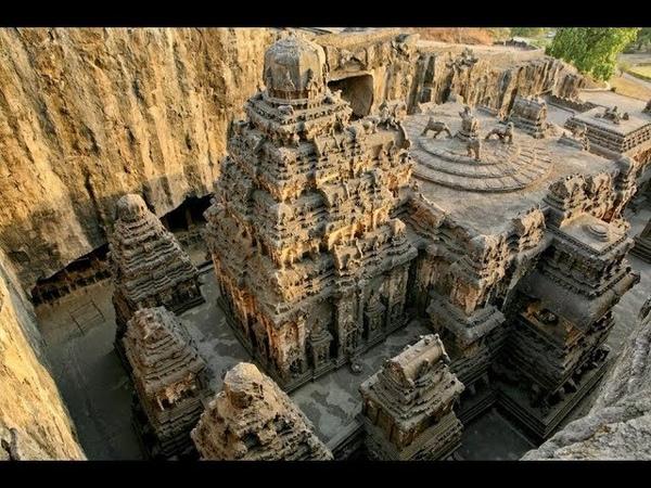 Пещеры Эллоры и храм Кайласанатха - не человеческие сооружения