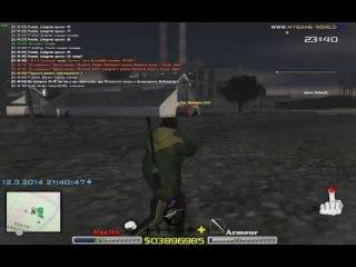 Las Colinas Group vs. Yakuza Mafia (MyGame 12.03.2014)